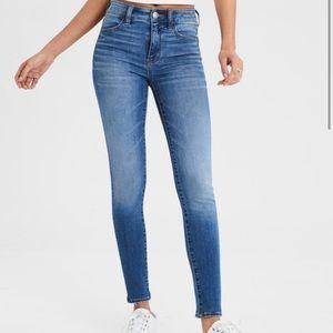 American Eagle High Rise Jegging Jean